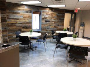corner cafe new floor fall 2018